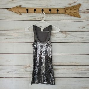 Maurices | Sequin Star Ribbed Tank Top